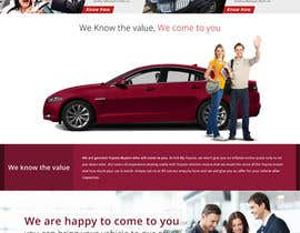 #18 untuk Design a Website Mockup for a car website oleh greenarrowinfo