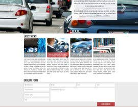 andrejor tarafından Design a Website Mockup for a car website için no 17