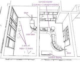 #16 untuk Interior modern design for a sweet/pastry shop oleh cecioconor