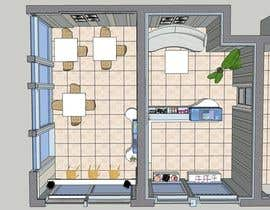 caterina2001 tarafından Interior modern design for a sweet/pastry shop için no 30