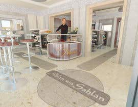 #31 untuk Interior modern design for a sweet/pastry shop oleh milosobilic
