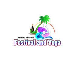 krisgraphic tarafından Design a Logo for festival and yoga related tourism website için no 16