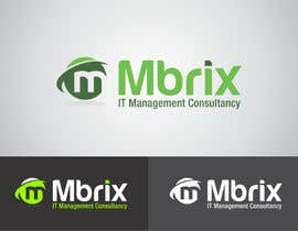 #89 para Design a logo for Mbrix IT management consultancy por vitalblaze