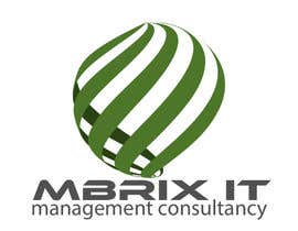 #145 para Design a logo for Mbrix IT management consultancy por rogeriolmarcos