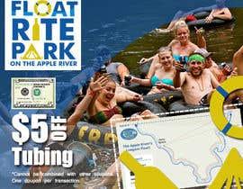 #8 untuk Design Simple $5 off Dropcard Coupon for Float Rite Park oleh primadanny