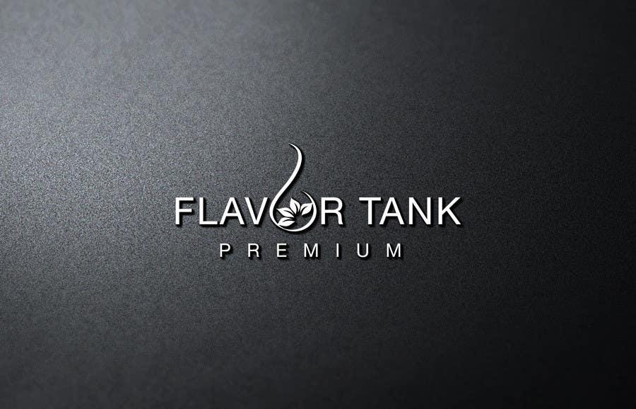 Proposition n°                                        37                                      du concours                                         Design a Logo for Flavor Tank
