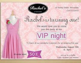#19 untuk Design a Flyer for clothing store 1st birthday invite oleh dgnGuru