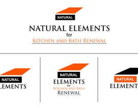 #79 para Design a Logo for Natural Elements for Kitchen and Bath Renewal por sirrom