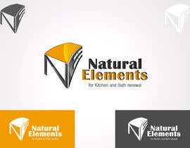 #87 para Design a Logo for Natural Elements for Kitchen and Bath Renewal por samslim
