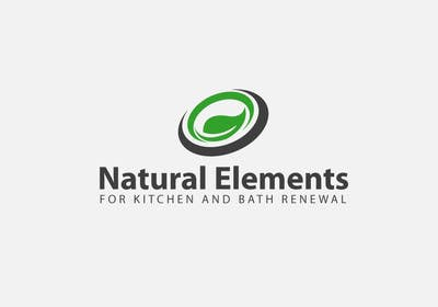 #70 for Design a Logo for Natural Elements for Kitchen and Bath Renewal by sultandesign