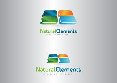 #43 for Design a Logo for Natural Elements for Kitchen and Bath Renewal by GeorgeOrf