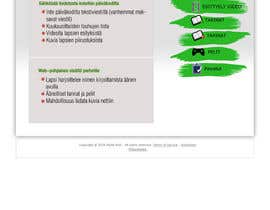 #12 dla Graphic Redesign: Front page of web app for nursery schools (PSD) przez Sirvan3TR