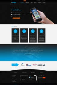 #2 untuk Redesign our home page and mobile service page oleh logodesire