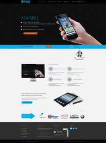 #5 untuk Redesign our home page and mobile service page oleh logodesire