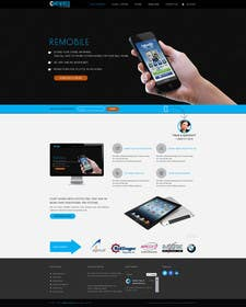 #7 untuk Redesign our home page and mobile service page oleh logodesire
