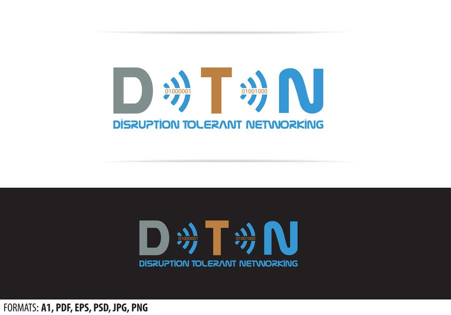 Contest Entry #54 for NASA Challenge: Design a Logo for Delay/Disruption Tolerant Networking (DTN) Project