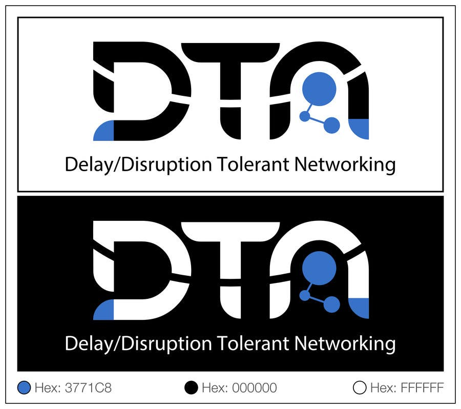 Contest Entry #190 for NASA Challenge: Design a Logo for Delay/Disruption Tolerant Networking (DTN) Project