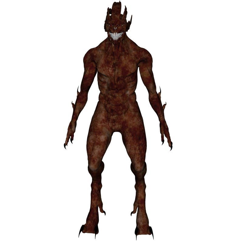 Bài tham dự cuộc thi #                                        7                                      cho                                         [3D-Model] Leather Monster