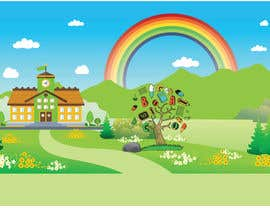 #11 untuk Backgrounds for pre-school show oleh bluedesign1234