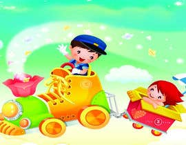 #17 untuk Backgrounds for pre-school show oleh parulpandey01