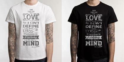 #10 untuk Design a T-Shirt for Band oleh ezaz09