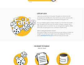 #30 untuk Redesign a single-page web site oleh aMontaser