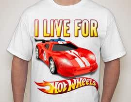 chandrachandu88 tarafından Design a T-Shirt for Hotwheels fan için no 8