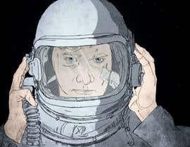F4MEDIA tarafından Experienced Space Pilot Character Portrait için no 3
