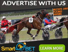 "#8 untuk Harness racing banner ad design ""advertise with us"" oleh SJADDesigns"