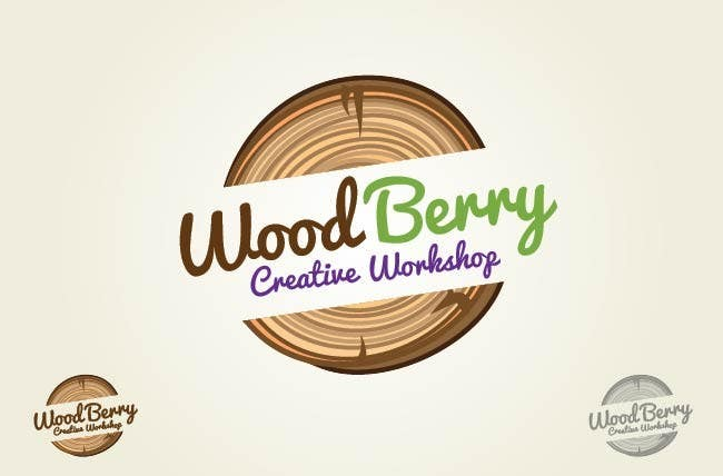 Logo For Wood Woodworking Company