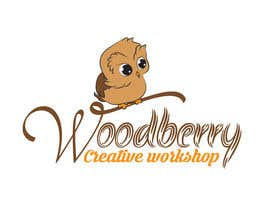 #40 untuk Logo for wood woodworking company oleh andreealorena89