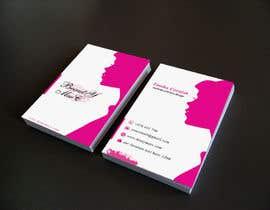 #93 untuk Makeup Artist Business Card Design oleh Nahidrahman19
