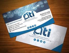 Rahimaakter015 tarafından Design some Business Cards for  ATI için no 45