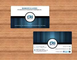 NatashaSoeiro tarafından Design some Business Cards for  ATI için no 4