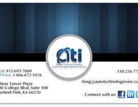 NatashaSoeiro tarafından Design some Business Cards for  ATI için no 32