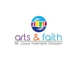 #185 untuk Arts & Faith St. Louis Interfaith Concert Logo oleh griffindesing