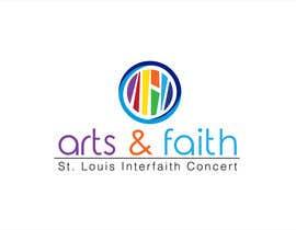 #192 untuk Arts & Faith St. Louis Interfaith Concert Logo oleh griffindesing