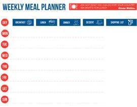 gkhaus tarafından Design a Weekly Meal Planner için no 3
