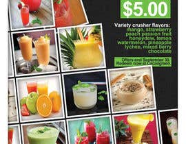 #4 untuk Drinks promotion flyer oleh fxyzied