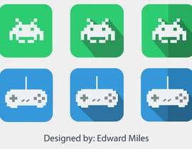 EdwardMiles tarafından Design some Icons for Retro (Space Invaders) style arcade game. için no 15