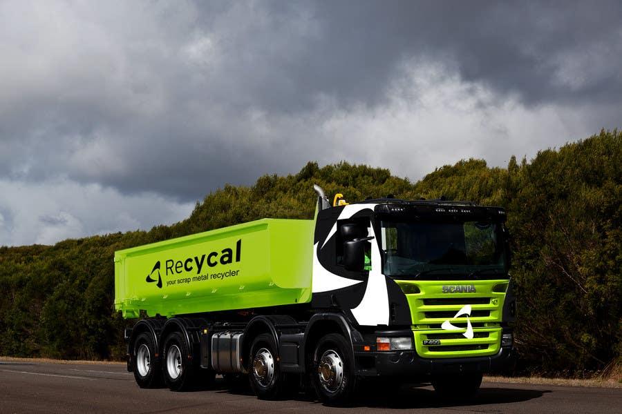 Kilpailutyö #119 kilpailussa Design our the colour scheme/artwork for our new trucks