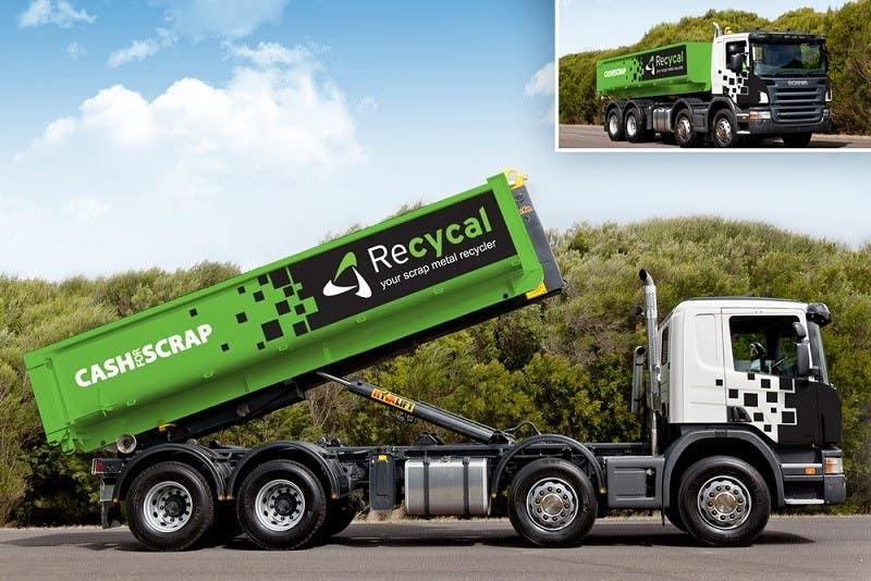 Kilpailutyö #51 kilpailussa Design our the colour scheme/artwork for our new trucks