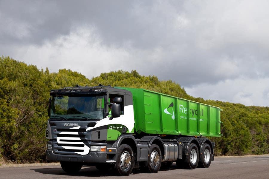 Kilpailutyö #113 kilpailussa Design our the colour scheme/artwork for our new trucks