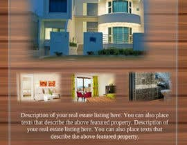 #54 untuk Design A Real Estate Flyer oleh Vishalmital