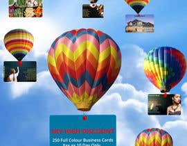 #14 untuk Design a Banner for marketing of a  print product (Air Balloon concept) oleh vedanthemu