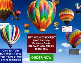 #3 untuk Design a Banner for marketing of a  print product (Air Balloon concept) oleh designsvilla