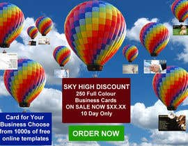 #5 untuk Design a Banner for marketing of a  print product (Air Balloon concept) oleh designsvilla