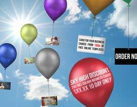 rafaespm tarafından Design a Banner for marketing of a  print product (Air Balloon concept) için no 9