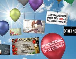 #12 untuk Design a Banner for marketing of a  print product (Air Balloon concept) oleh rafaespm