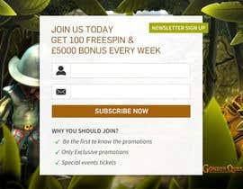 #1 untuk Design a Newsletter Sign Up Banner oleh mufzilkp